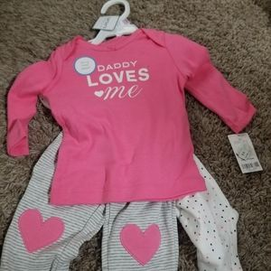 Toddler girl outfit set